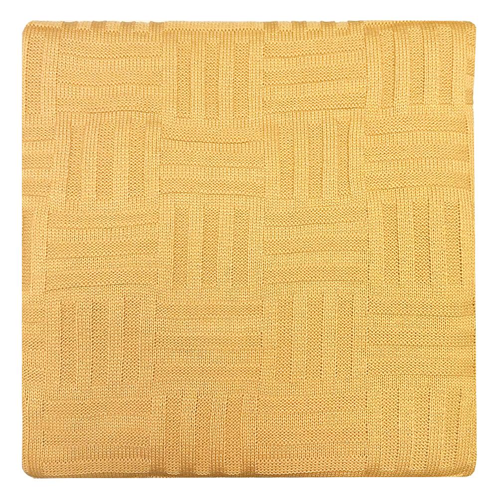 Плед Apolena Листопад Quadro, цвет: горчичный, 130 х 180 см87-V373/1Плед Apolena Quadro выполнен из мягкой объемной пряжи, обеспечивающей хорошую теплозащиту и комфорт. Высокое качество материала гарантирует отсутствие пиллинга при правильном уходе. Вязаный плед используется в качестве шали или накидки на односпальную кровать, диван или кресло. В плед можно укутаться, а также использовать в качестве декоративного элемента оформления интерьера. Вязаный плед пригодится в любое время года.Изделие дополнено модным рисунком квадраты. Удобство, комфорт, стиль и экологичность в одном предмете.
