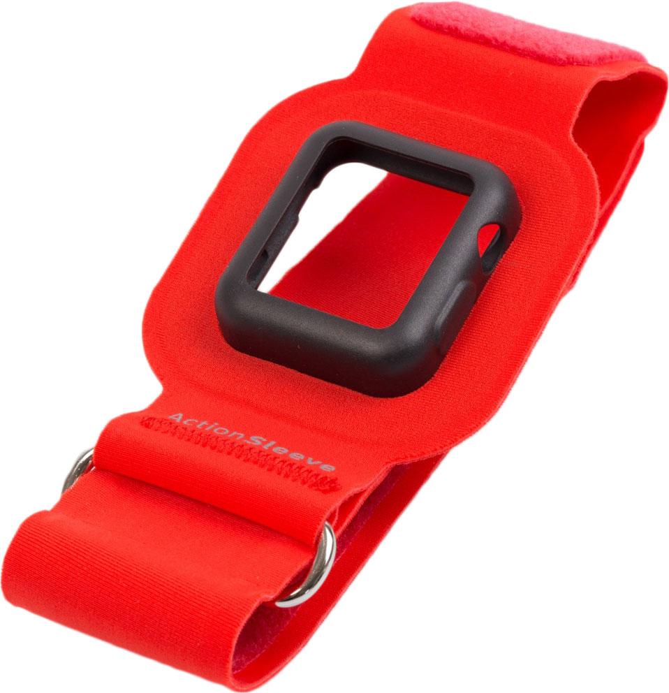 Twelve South Action Sleeve Armband чехол для Apple Watch 42mm, Red (Размер L)