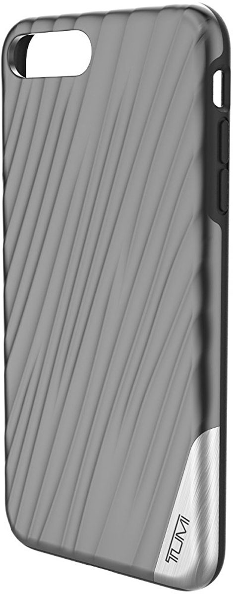 Tumi 19 Degree Case чехол для Apple iPhone 7 Plus/8 Plus, Metallic Gunmetal чехол для apple iphone 6 plus sgp tough armor case gunmetal