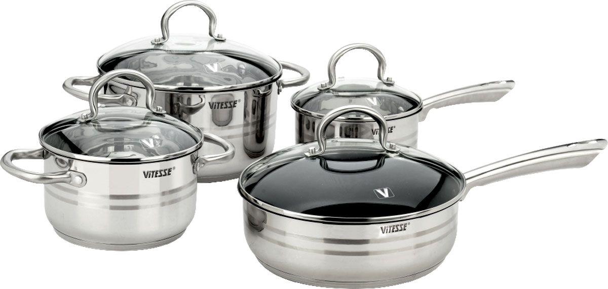 Набор посуды Vitesse Chantal, 9 предметов herbal muscle