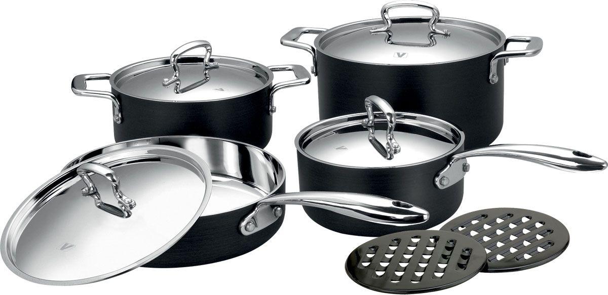 Набор посуды Vitesse Elaine, 10 предметов. VS-1024 яйцеварка vitesse linda с крышкой диаметр 18 см