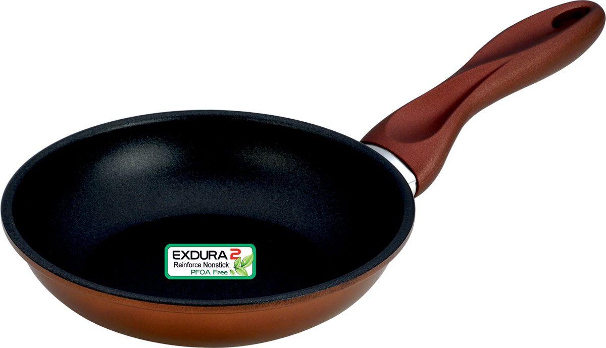 Сковорода Vitesse Tarika, с керамическим покрытием. Диаметр 18 смVS-1165Сковорода Vitesse Tarika, изготовленная из высококачественной стали, обеспечивает равномерный нагрев. Внутренние стенки имеют керамическое покрытие. Внешнее элегантное цветное покрытие, подвергшееся высокотемпературной обработке. Сковорода оснащена удобной бакелитовой ручкой. Сковорода подходит для использования на всех типах плит, включая индукционную. Также изделие можно мыть в посудомоечной машине. Диаметр сковороды (по верхнему краю): 18 см.Длина ручки: 16 см. Высота стенки: 4 см.Толщина стенок: 1,5 мм.Толщина дна: 3 мм