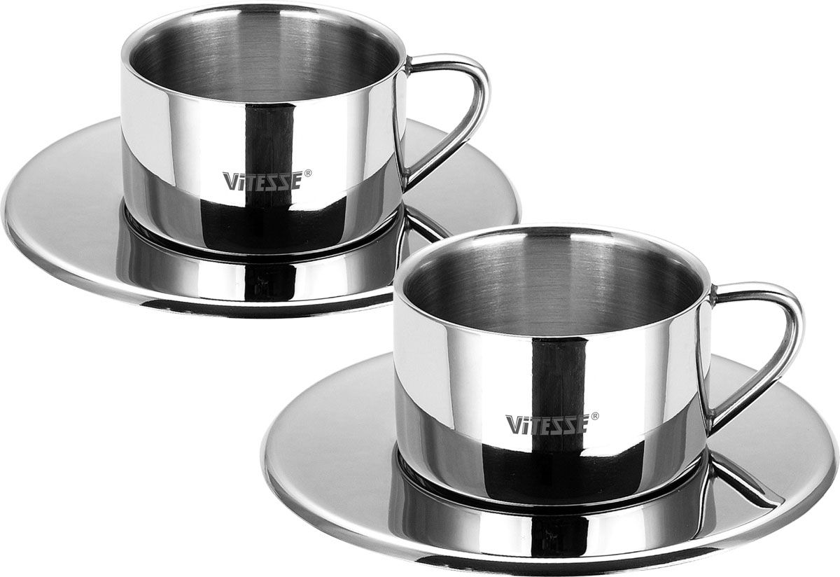 Кофейная пара Vitesse Seema посуда кухонная