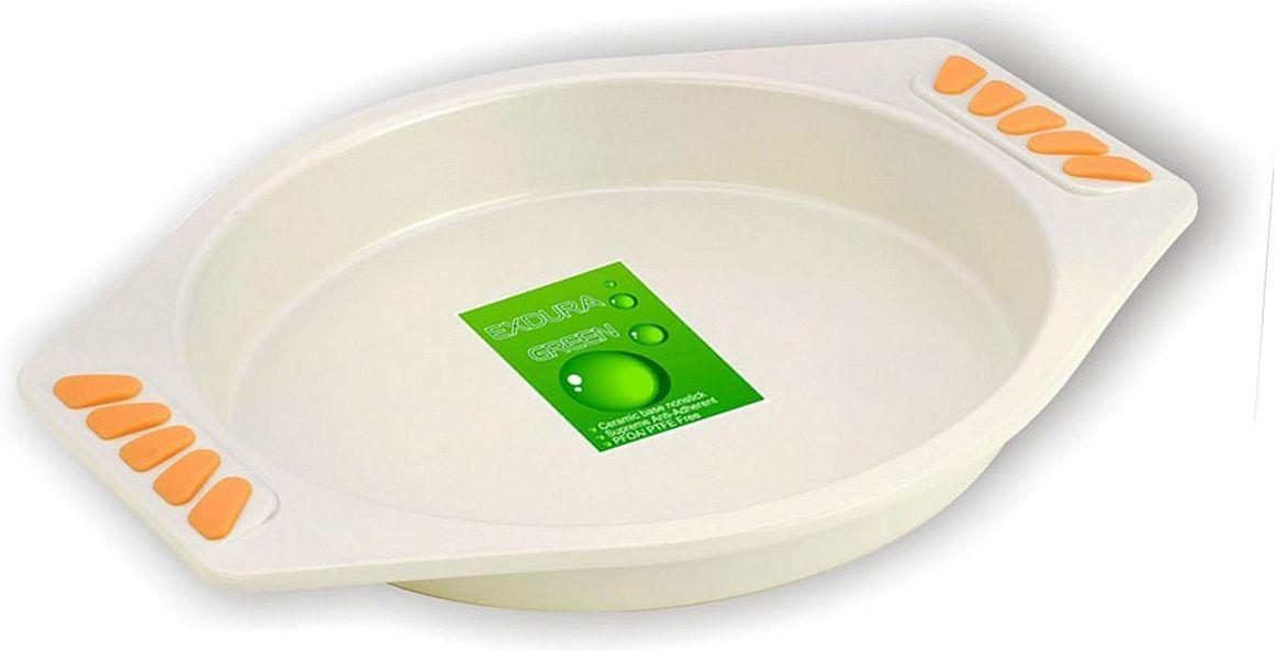 Форма для выпечки Vitesse. Marka, диаметр 23 смVS-1932Круглая форма для выпечки Vitesse. Marka изготовлена из высококачественной углеродистой стали. Антипригарное покрытие Exdura Green, препятствует пригоранию пищи и обеспечивающее легкую очистку. Пригодна для мытья в посудомоечной машине. Форма выдерживает температуру до 220°С. Удобные ручки с силиконовыми вставками не нагреваются. Простая в уходе и долговечная в использовании, она будет верной помощницей в создании ваших кулинарных шедевров.Характеристики: Материал:углеродистая сталь, силикон. Диаметр формы (без учета ручек): 23 см. Общий размер формы:29,5 см х 25 см х 3 см.