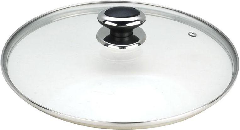 Крышка стеклянная Vitesse. Диаметр 20 смVS-1957Крышка Vitesse с отверстием для паровыпуска выполнена из термостойкого стекла, что позволяет контролировать процесс приготовления без потери тепла. Ободок из нержавеющей стали предотвращает появление сколов на стекле. Ручка выполнена из нержавеющей стали с бакелитовой вставкой. Крышку можно мыть в посудомоечной машине. Характеристики:Материал: стекло, нержавеющая сталь, бакелит. Диаметр крышки: 20 см.Кухонная посуда марки Vitesse из нержавеющей стали 18/10 предоставит вам все необходимое для получения удовольствия от приготовления пищи и принесет радость от его результатов. Посуда Vitesse обладает выдающимися функциональными свойствами. Легкие в уходе кастрюли и сковородки имеют плотно закрывающиеся крышки, которые дают возможность готовить с малым количеством воды и экономией энергии, и идеально подходят для всех видов плит: газовых, электрических, стеклокерамических и индукционных. Конструкция дна посуды гарантирует быстрое поглощение тепла, его равномерное распределение и сохранение. Великолепно отполированная поверхность, а также многочисленные конструктивные новшества, заложенные во все изделия Vitesse , позволит вам открыть новые горизонты приготовления уже знакомых блюд. Для производства посуды Vitesse используются только высококачественные материалы, которые соответствуют международным стандартам.