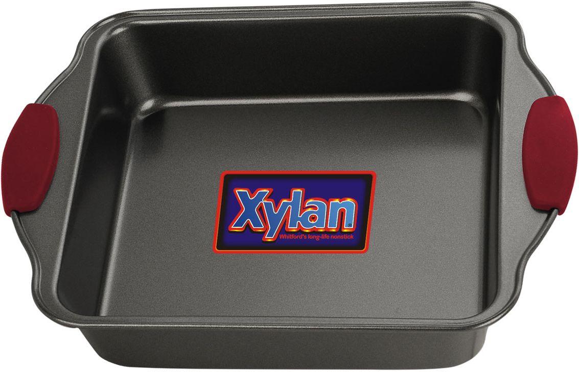 Форма для выпечки Vitesse, 20 см х 20 смVS-8600Квадратная форма для выпечки Vitesse изготовлена из высококачественной углеродистой стали. Антипригарное покрытие Xylan, препятствует пригоранию пищи и обеспечивающее легкую очистку. Пригодна для мытья в посудомоечной машине. Форма выдерживает температуру до 260°С. Удобные ручки с силиконовыми вставками не нагреваются. Простая в уходе и долговечная в использовании, она будет верной помощницей в создании ваших кулинарных шедевров. Характеристики: Материал:углеродистая сталь, силикон. Внутренний размер формы (без учета ручек): 20 см х 20 см. Общий размер формы:26 см х 22 см х 5,5 см.Изготовитель:Китай. Артикул:VS-8600.