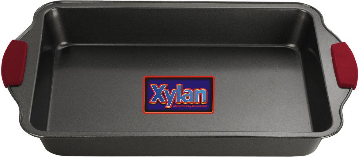 Форма для выпечки Vitesse, 33 см х 23 смVS-8602Прямоугольная форма для выпечки Vitesse изготовлена из высококачественной углеродистой стали. Она имеет антипригарное покрытие Xylan, препятствующее пригоранию и обеспечивающее легкую очистку. Форму можно использовать при температуре 200°С - 260°С. Форма имеет две удобные ручки с силиконовыми вставками, которые не нагреваются. С такой формой вы всегда сможете порадовать своих близких оригинальной выпечкой. Характеристики: Материал:углеродистая сталь, силикон. Внутренний размер формы (без учета ручек): 33 см х 23 см. Общий размер формы:41 см х 25 см х 5,5 см.Изготовитель:Китай. Артикул:VS-8602.