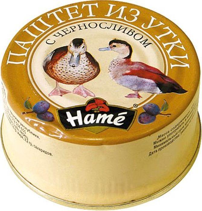Hame Паштет из утки с черносливом, 117 г паштет carnex с черносливом 95г
