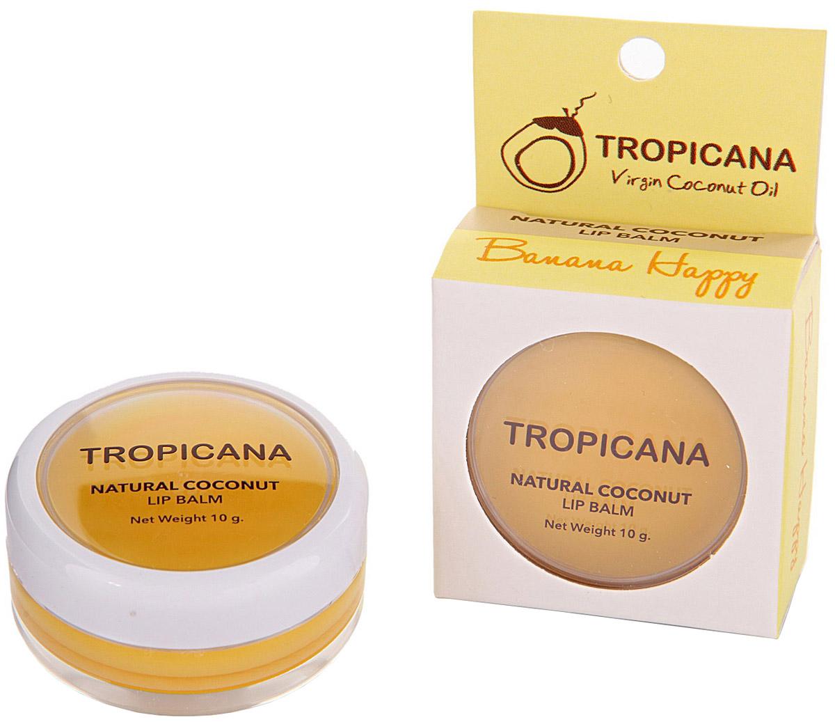 Бальзам для губ Банановое счастье Tropicana, 10 грA16354/01Обогащенный органическим кокосовым маслом холодного отжима, экстрактом банана и маслом ши. Препятствует образованию микро-трещинок на обветренных губах. Сочетание витаминов С и Е это мощный антиоксидант, делает губы гладкими и мягкими. Зрительно увеличивает губ. Спасает от ожогов на солнце, а также ухаживает и увлажняет в зимний период. С приятным ароматом банана. Не содержит в себе отдушек и химических добавок.
