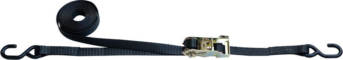 Крепежный ремень Thule Ratchet Tie Down, 0,4+4,1 м. 323323Ремень Thule Strap 323 - Гарантирует быстрое и безопасное крепление любых грузов, от лестниц до досок.