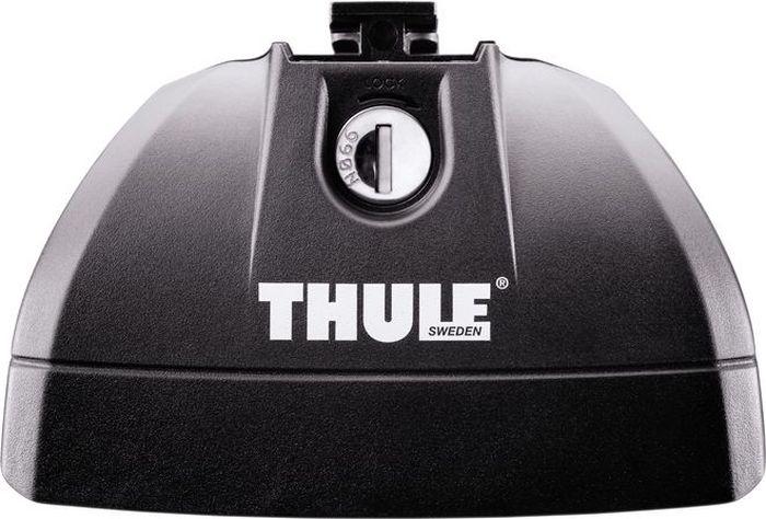Упоры для автомобилей Thule, со специальными штатными местами, низкий753Упоры для автомобилей Thule - элегантное, низкое исполнение универсального крепления багажника для автомобилей с заводскими точками крепления. Фиксируется на автомобиле с помощью замков системы Thule One-Key (входят в комплект). Максимальная нагрузка: 100 кг.