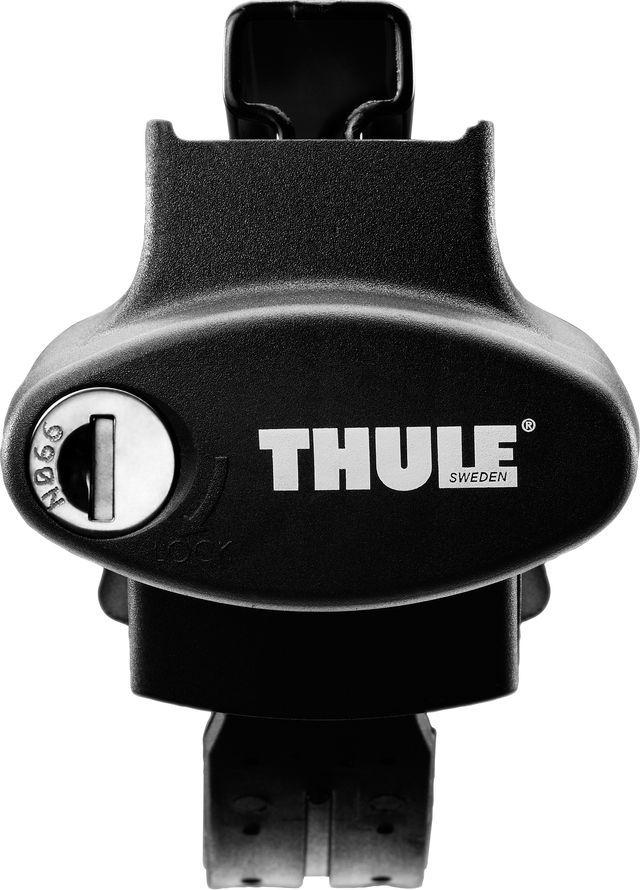 Упоры Thule Rapid System, для автомобилей с продольными дугами на широкий рейлинг. 775775Thule Rapid System - универсальный и элегантный упор рейлинга, подходящий для самого широкого диапазона размеров рейлинга. Несмотря на низкий и тонкий профиль данного багажника, он подходит даже для самых широких и сильно разнесенных рейлингов диаметром 20-68. Резиновая накладка защищает поверхность рейлинга от царапин. Подходит для Thule WingBar, SlideBar, AeroBar, SquareBar и ProBar. Надежно фиксируется стальным ремнем с резиновой оболочкой.Особенности:Крепление запирается на ключ.Фиксаторы включены в комплект.