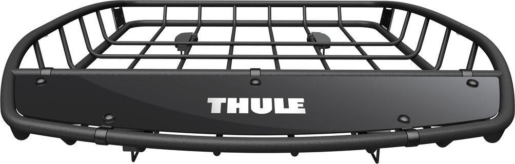 Грузовая корзина на автомобиль Thule Canyon, 128 х 104 см. 859859Thule Canyon - Грузовая корзина на крышу с прочной, но стильной конструкцией из легких стальных трубок идеально подходит для транспортировки груза любого размера и формы.