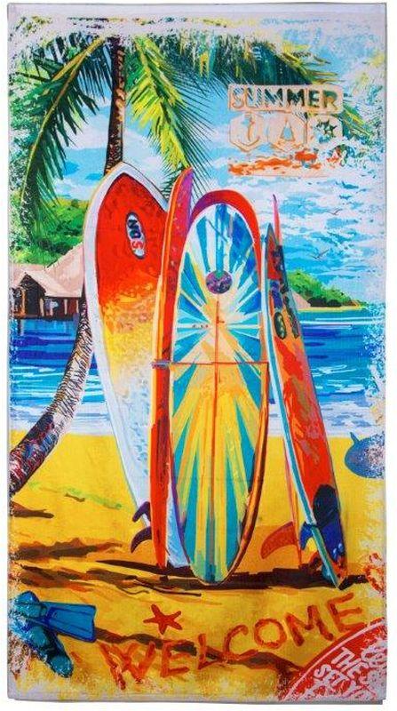 полотенце детское mona liza mona liza полотенце 70х140 sl summer surf Полотенце Mona Liza Surf, 70 х 140 см