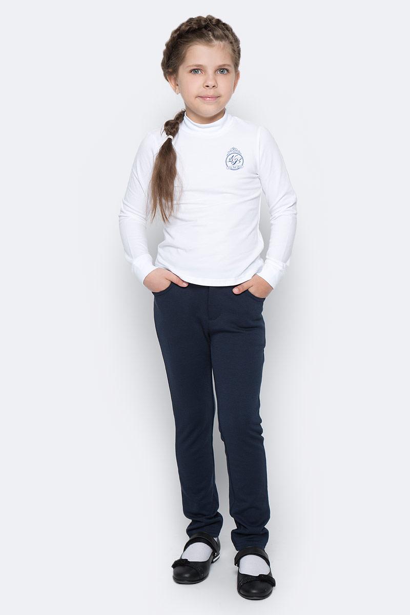 Водолазка для девочки Nota Bene, цвет: белый. CJR27039B01. Размер 158 платье tutto bene tutto bene tu009ewzwn18