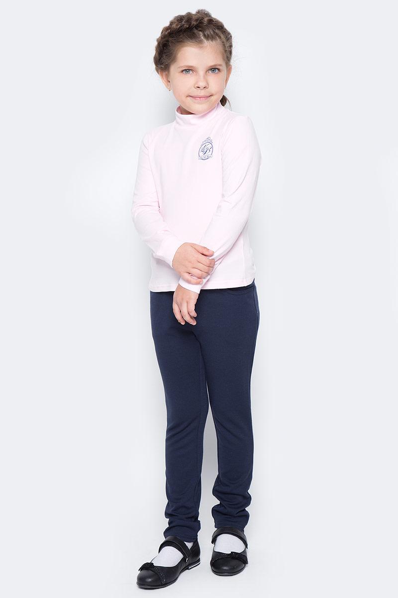 Водолазка для девочки Nota Bene, цвет: розовый. CJR27039B05. Размер 146CJR27039A05/CJR27039B05Водолазка для девочки Nota Bene выполнена из хлопкового трикотажа. Модель с длинными рукавами и воротником-стойкой на груди оформлена принтом.