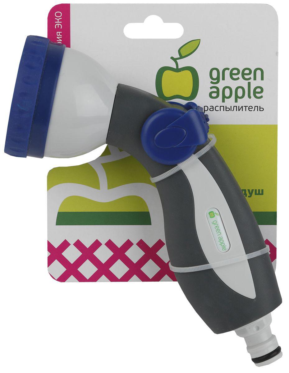 Пистолет-распылитель Green Apple ЕСО, 8 режимов муфта для шланга green apple есо соединительная 19 мм 3 4