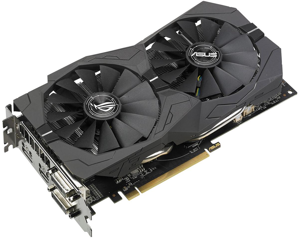 ASUS ROG Strix Radeon RX 570 OC 4GB видеокарта