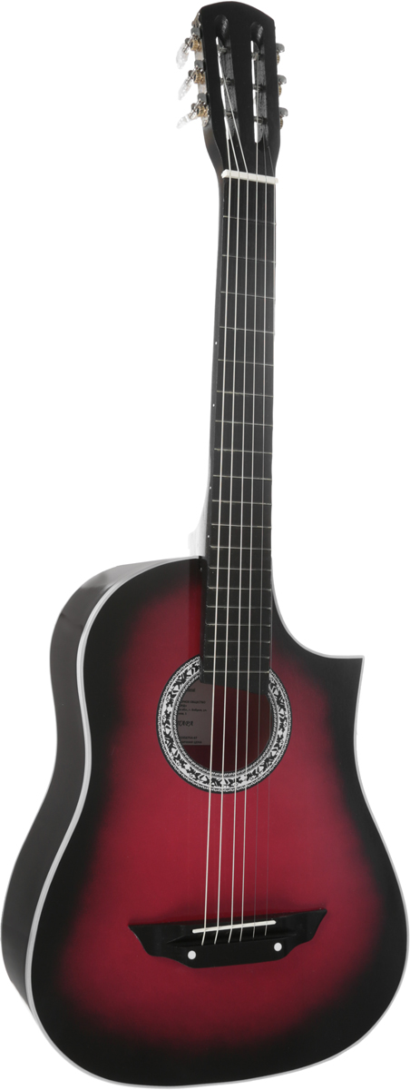 Аккорд Classic 1, Burgundy акустическая гитара - Гитары