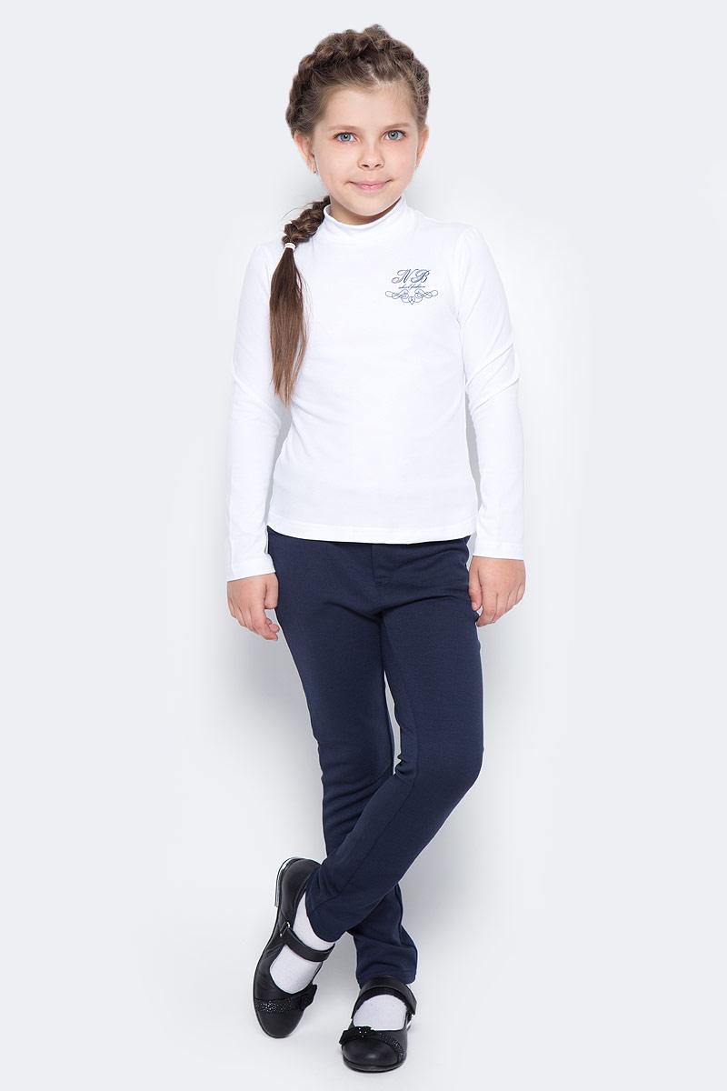 Водолазка для девочки Nota Bene, цвет: белый. CJR27038A01. Размер 122 платье tutto bene tutto bene tu009ewzwn18