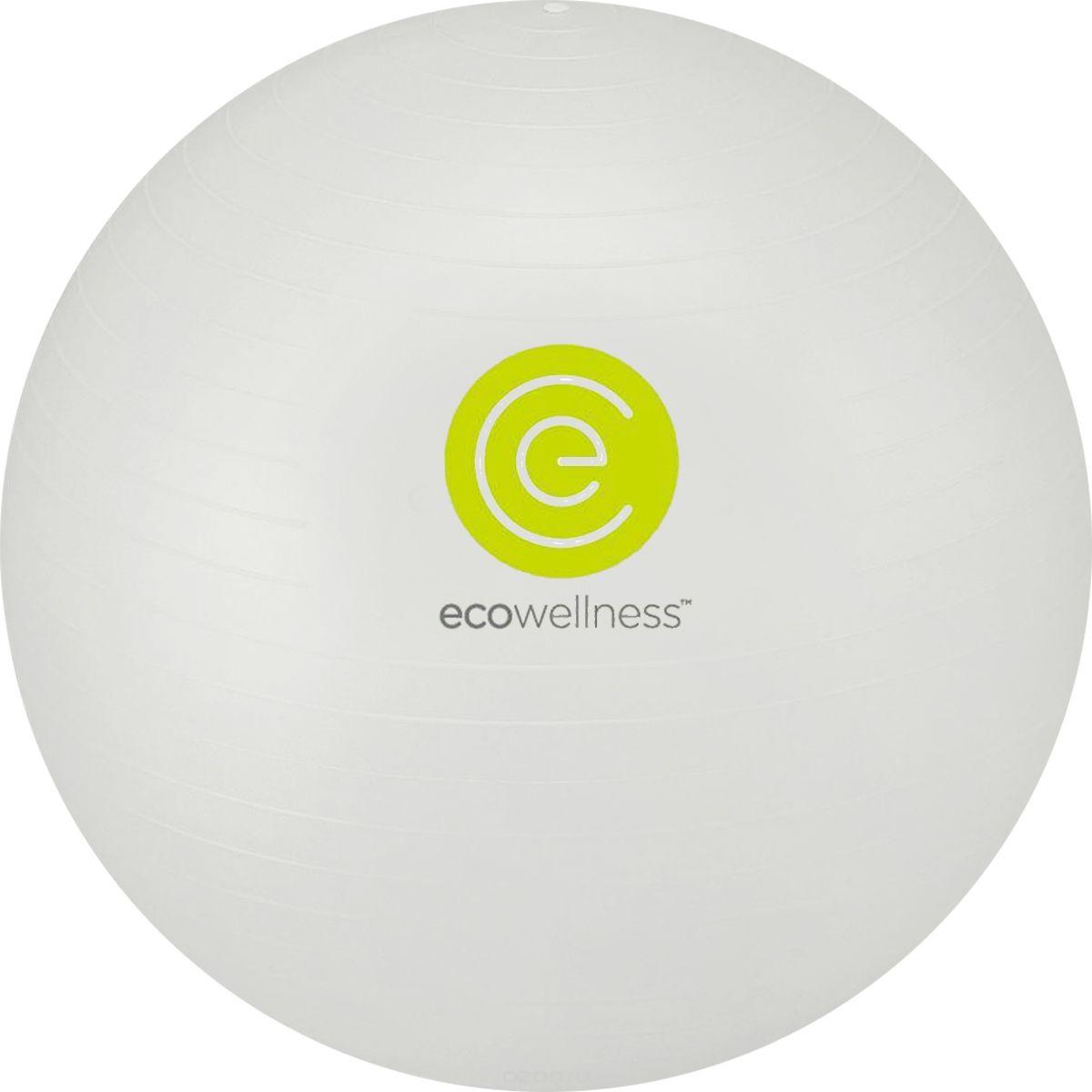 Мяч гимнастический Ecowellness, c ручным насосом, цвет: серебристый, диаметр 75 смQB-001TAG3-30DМяч Ecowellness предназначен для гимнастических и медицинских целей в лечебных упражнениях. Он выполнен из прочного гипоаллергенного ПВХ. Прекрасно подходит для использования в домашних условиях. Данный мяч можно использовать для: реабилитации после травм и операций, восстановления после перенесенного инсульта, стимуляции и релаксации мышечных тканей, улучшения кровообращения, лечении и профилактики сколиоза, при заболеваниях или повреждениях опорно-двигательного аппарата.УВАЖЕМЫЕ КЛИЕНТЫ!Обращаем ваше внимание на тот факт, что мяч поставляется в сдутом виде. Насос входит в комплект.