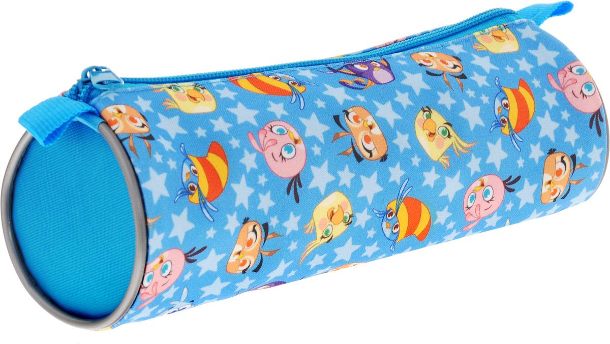 Action! Пенал-тубус Stella by Angry Birds цвет голубой action сумка для сменной обуви stella by angry birds цвет розовый