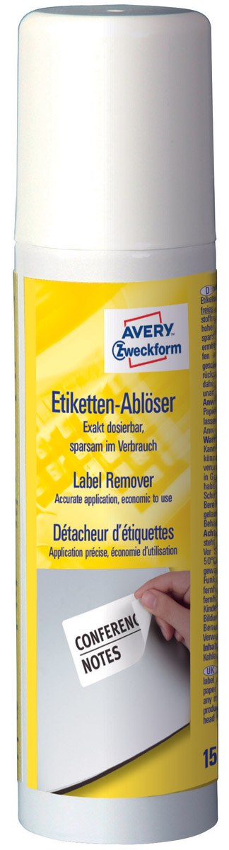 Avery Zweckform Жидкость для удаления этикеток150 мл
