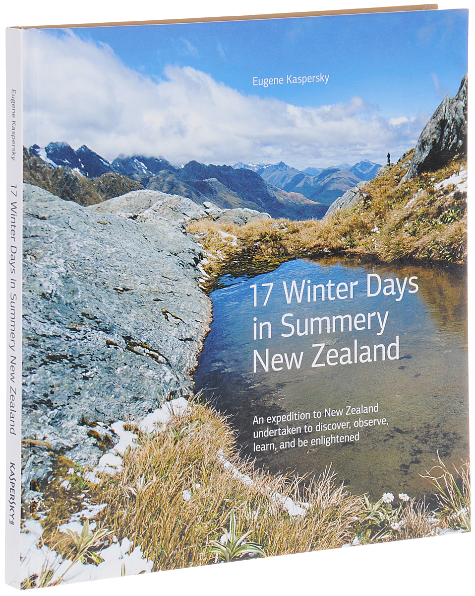 Eugene Kaspersky 17 Winter Days in Summery New Zealand