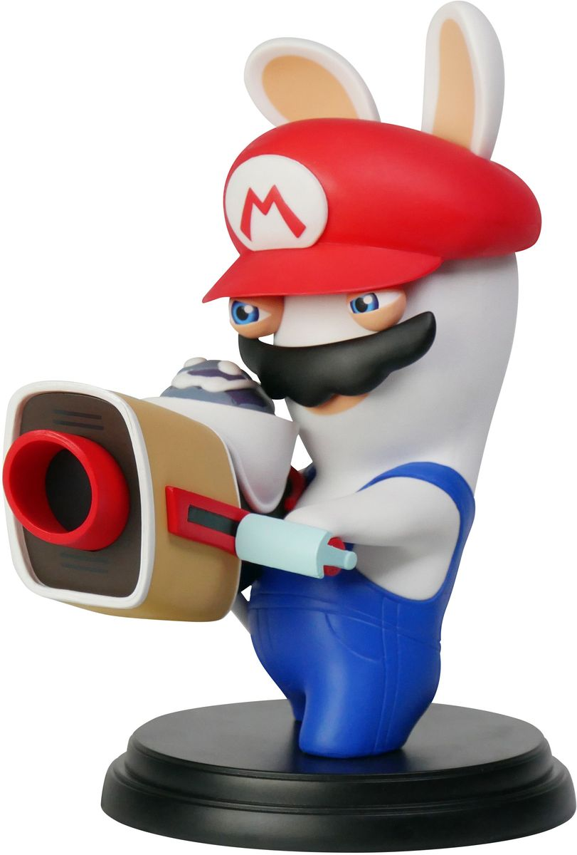 Mario + Rabbids Битва за Королевство. Фигурка Кролик-Марио 6 mario rabbids битва за королевство фигурка кролик луиджи 3