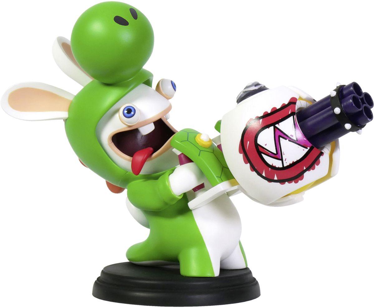 Mario + Rabbids Битва за Королевство. Фигурка Кролик-Йоши 6 фигурка ubisoft mario rabbids битва за королевство – кролик йоши 8 см