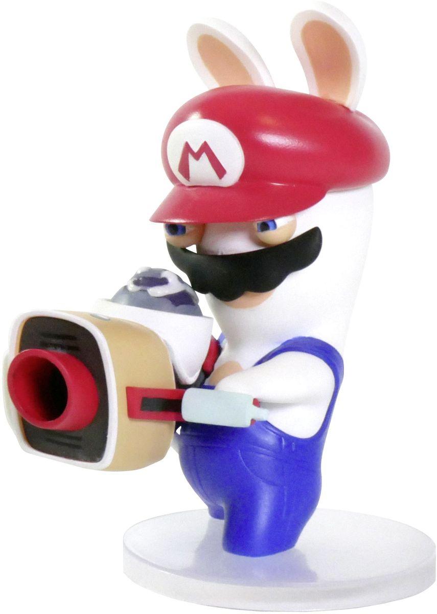 Mario + Rabbids Битва за Королевство. Фигурка Кролик-Марио 3 коллекционная фигурка mario rabbids битва за королевство – кролик луиджи 15 24 см