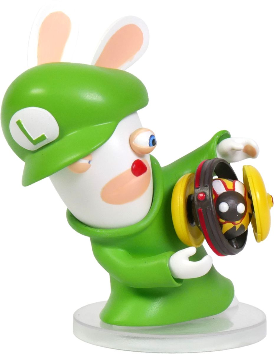 Mario + Rabbids Битва за Королевство. Фигурка Кролик-Луиджи 3 autotoolhome 7pcs hss 5 flute countersink drill bit set carpentry reamer core woodworking chamfer 3mm 10mm for wood drilling
