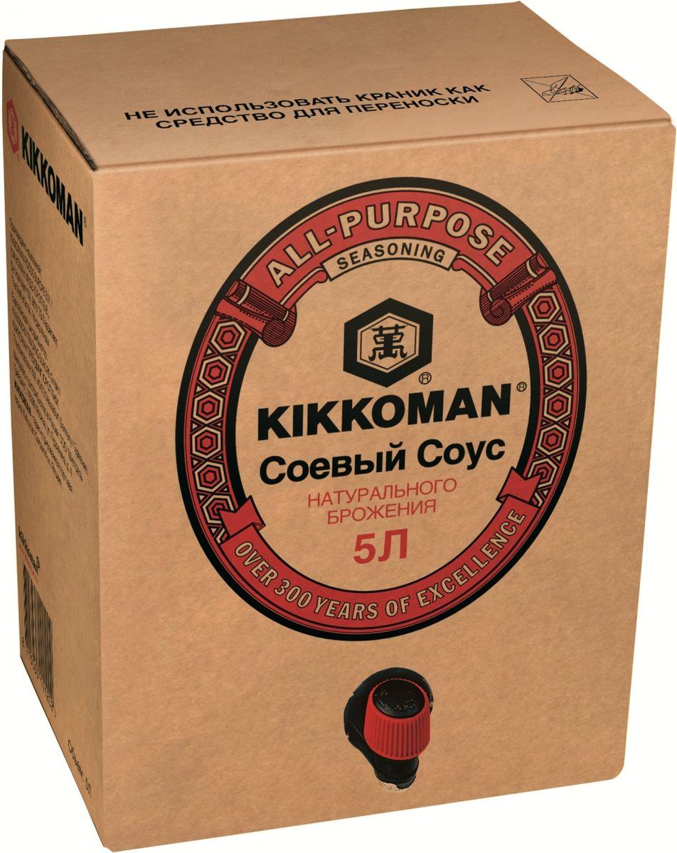 Kikkoman соус соевый, 5 л golden boat темный соевый соус премиум 300 мл