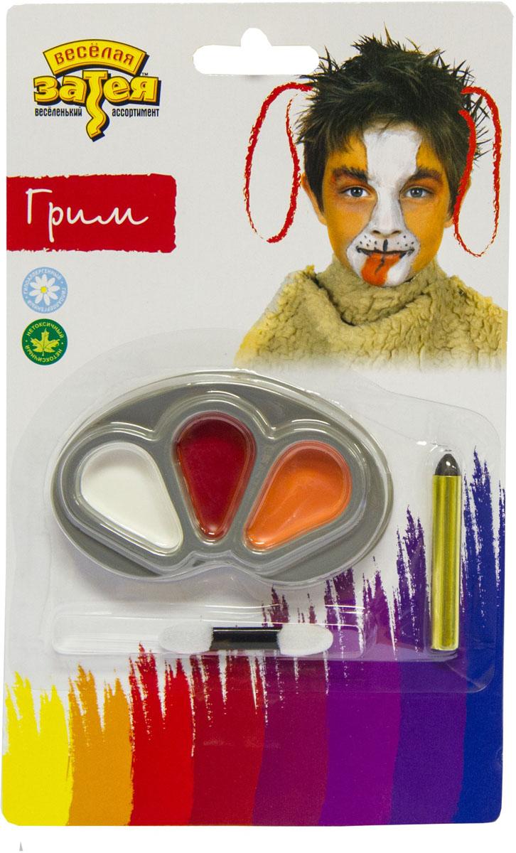 Веселая затея Набор для грима Щенок -  Украшение волос, лица и тела