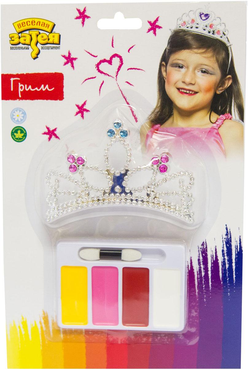 Веселая затея Набор для грима Принцесса -  Украшение волос, лица и тела