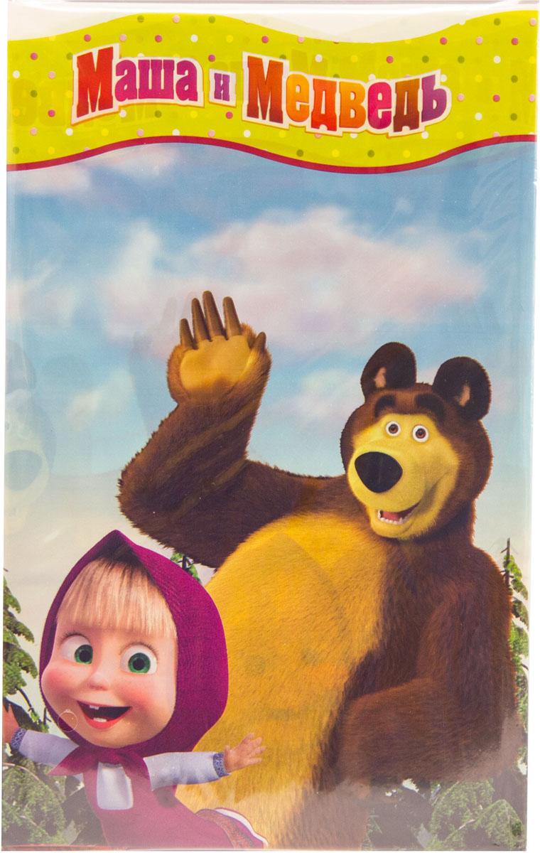 Веселая затея Скатерть Маша и Медведь 130 см х 180 см