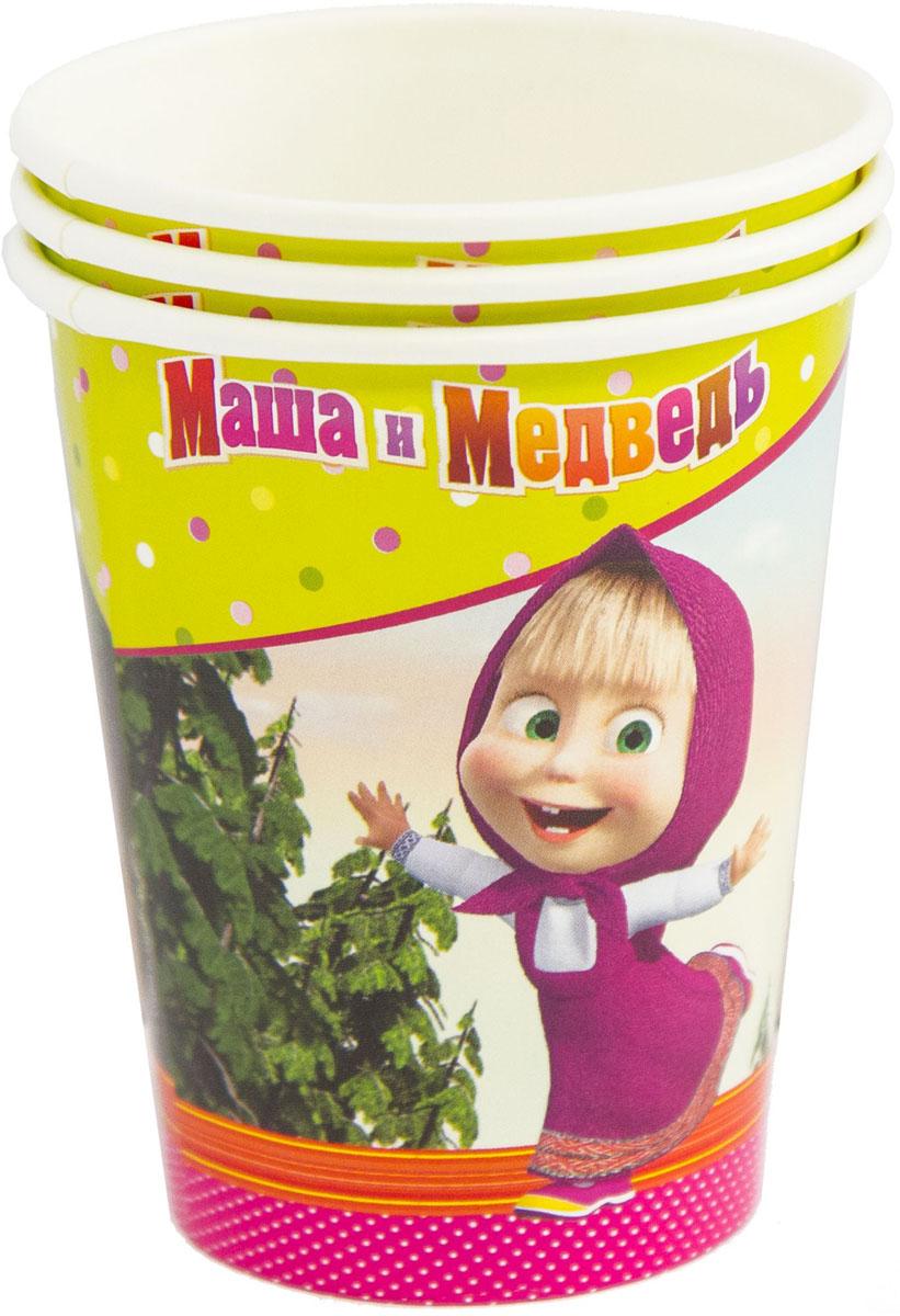 Бумажные стаканчики с изображением озорной Маши и рассудительного Миши обеспечат веселый праздник для детей и их родителей! В упаковке 6 бумажных ламинированных стаканов.