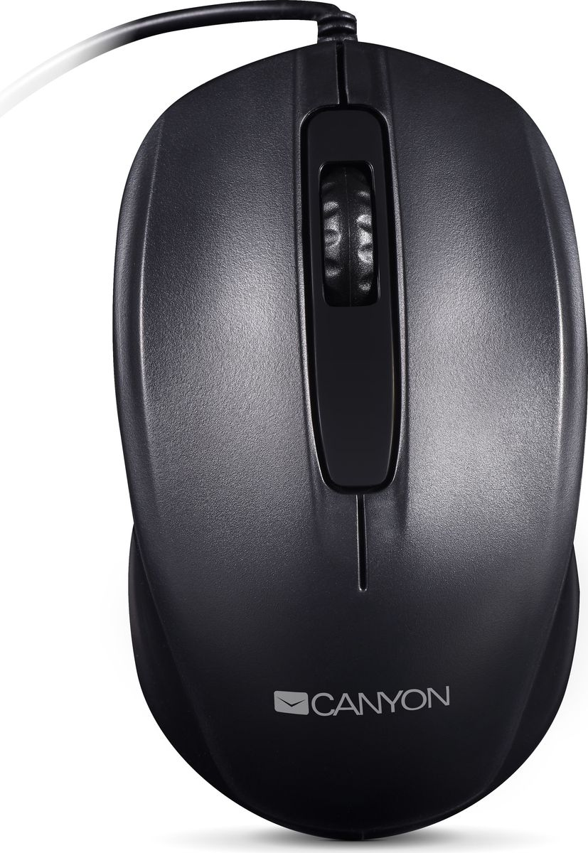 Canyon CNE-CMS01B, Black мышь веб камера canyon cne cwc2 черный серебристый