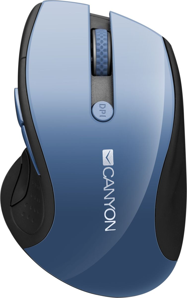 Canyon CNS-CMSW01, Blue мышь беспроводная мышь canyon cns cmsw6bl blue usb