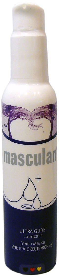 Masculan Гель-смазка ультра-скольжение, с дозатором, 130 мл спрей очиститель clean n safe 200 ml