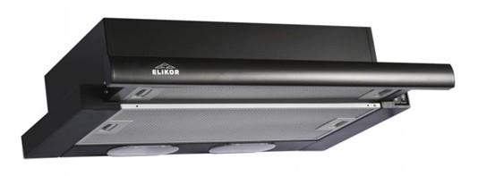 Elikor КВ II М-400-60-260, Black вытяжка встраиваемая - Вытяжки