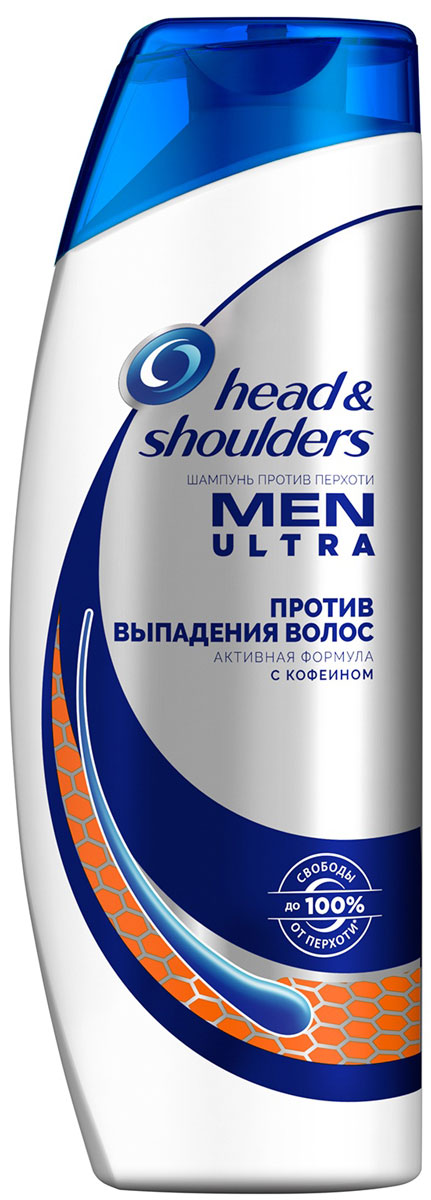 Шампунь против перхоти Head & Shoulders Против выпадения волос для мужчин, 400 мл