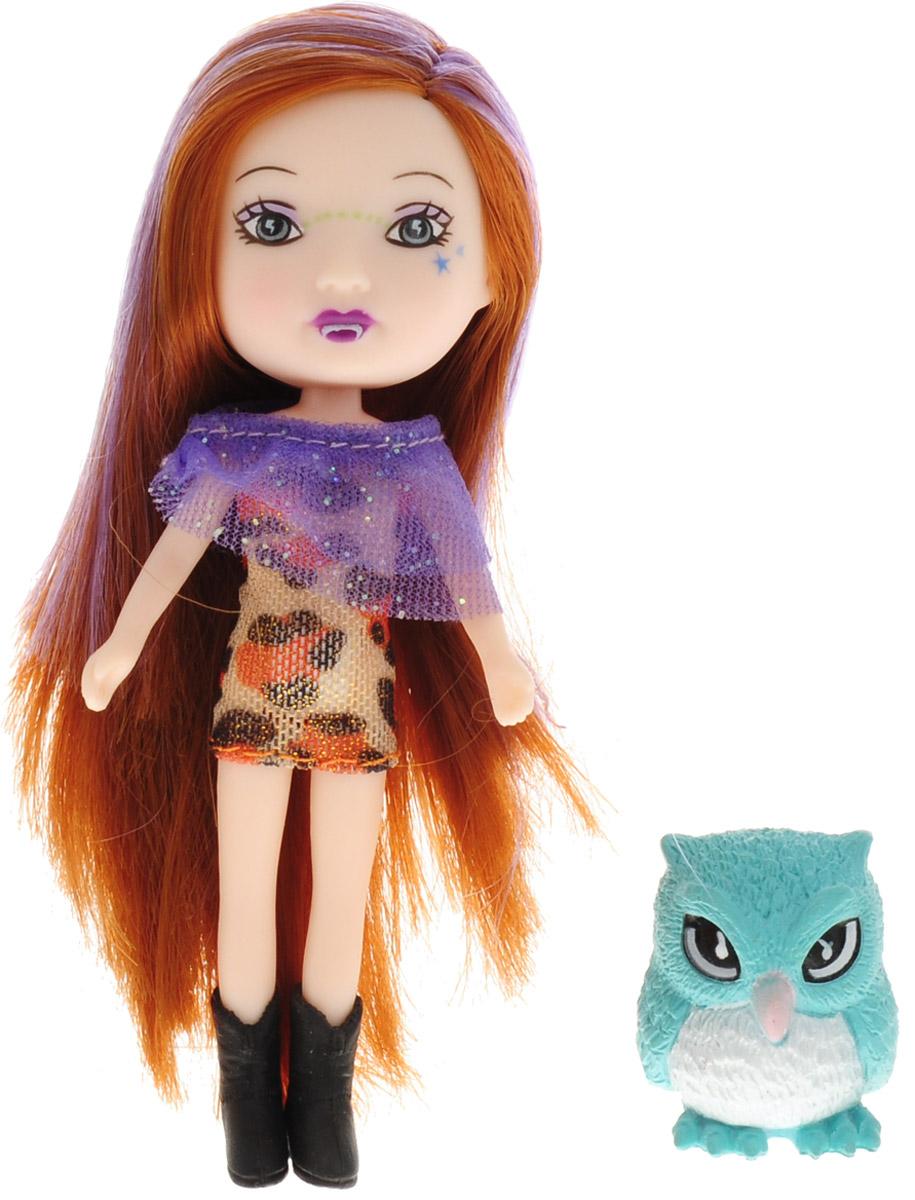 Veld-Co Мини-кукла Mona с совой veld co мини кукла mona с черепахой