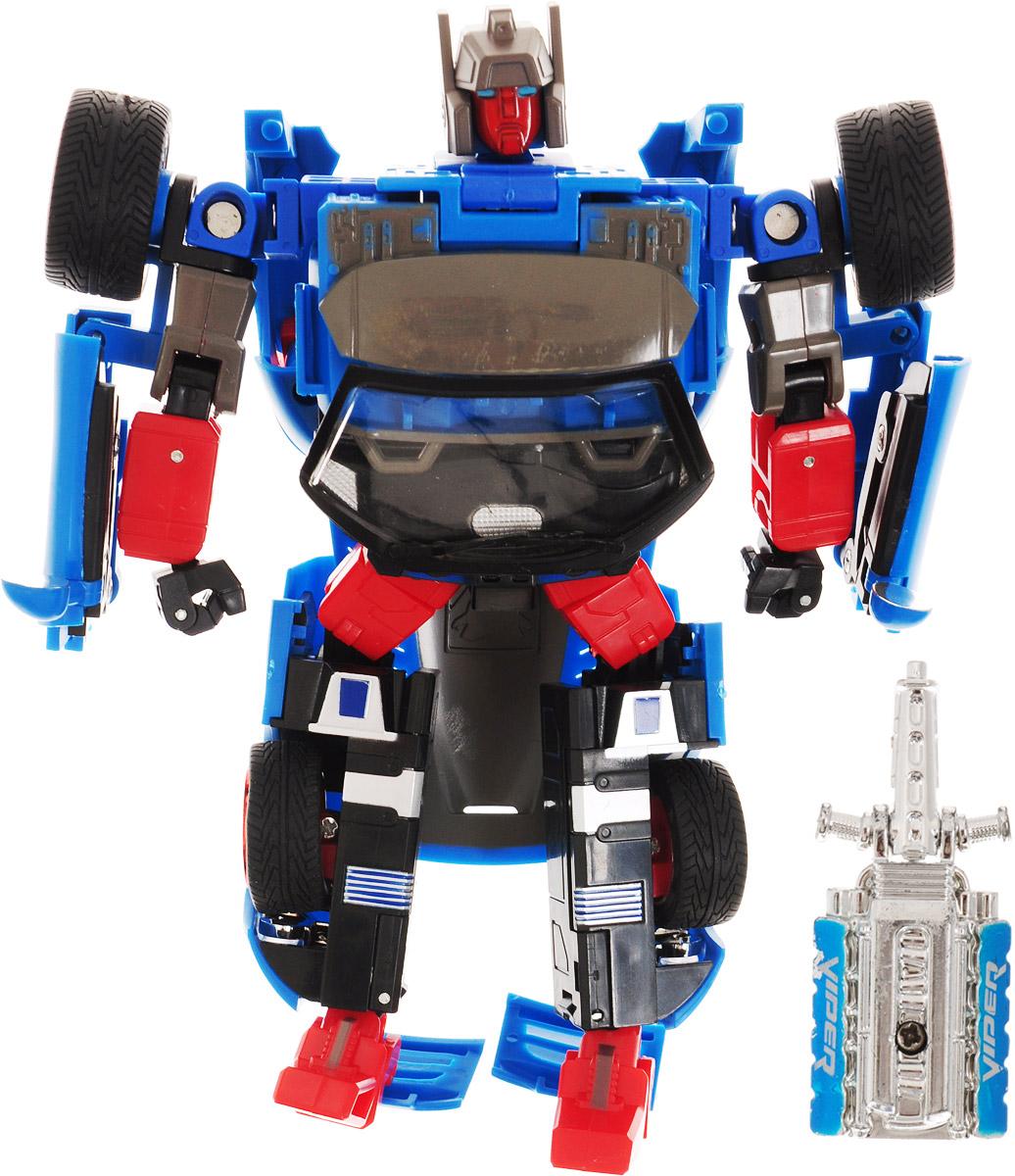 Склад уникальных товаров Робот-трансформер Кабриолет XXL цвет синий - Фигурки