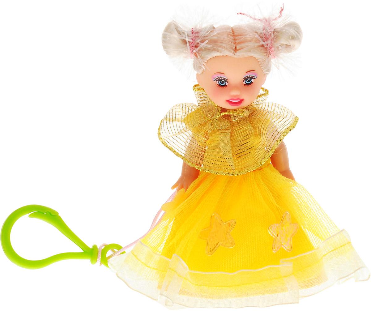 Defa Toys Мини-кукла Beily цвет платья желтый