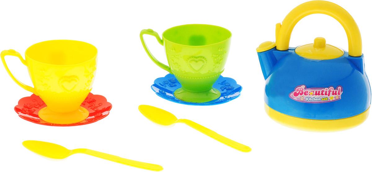 ABtoys Игрушечный кухонный набор 7 предметов PT-00203ст_2 abtoys игрушечный кухонный набор 14 предметов pt 00410