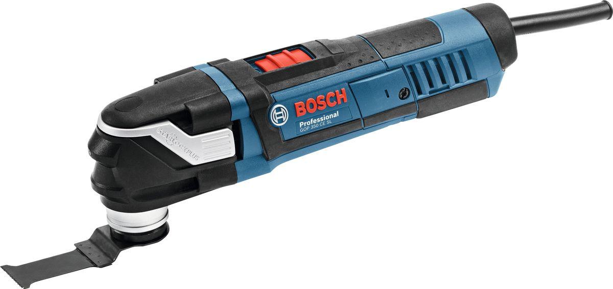 Реноватор Bosch GOP 40-30 Set0601231003Многофункциональный инструмент BOSCH GOP 40-30 в кейсе с 36 предметами оснастки - предназначен для вырезания отверстий, распиливания небольших заготовок, шлифовки, полировки, а также зачистки различных поверхностей.Этот инструмент выгодно отличается превосходной эргономичностью: он практичен, легок и прост в обращении. Плавная предустановка частоты вращения с функцией Eco-Electronicобеспечивает высокоточную работу.Оснащен светодиодной подсветкой. Мощность - 400Вт; Угол колебаний - 3.0 (2x1.5)°; Число колебательных движений холостого хода - 8.000-20.000 (колебаний/мин).