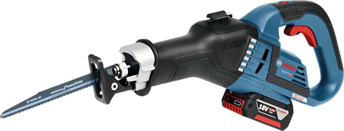 Пила аккумуляторная сабельная Bosch GSA 18V-32, без аккумулятора и зарядного устройства пила сабельная аккумуляторная bosch gsa 18 v li c 6016a5001