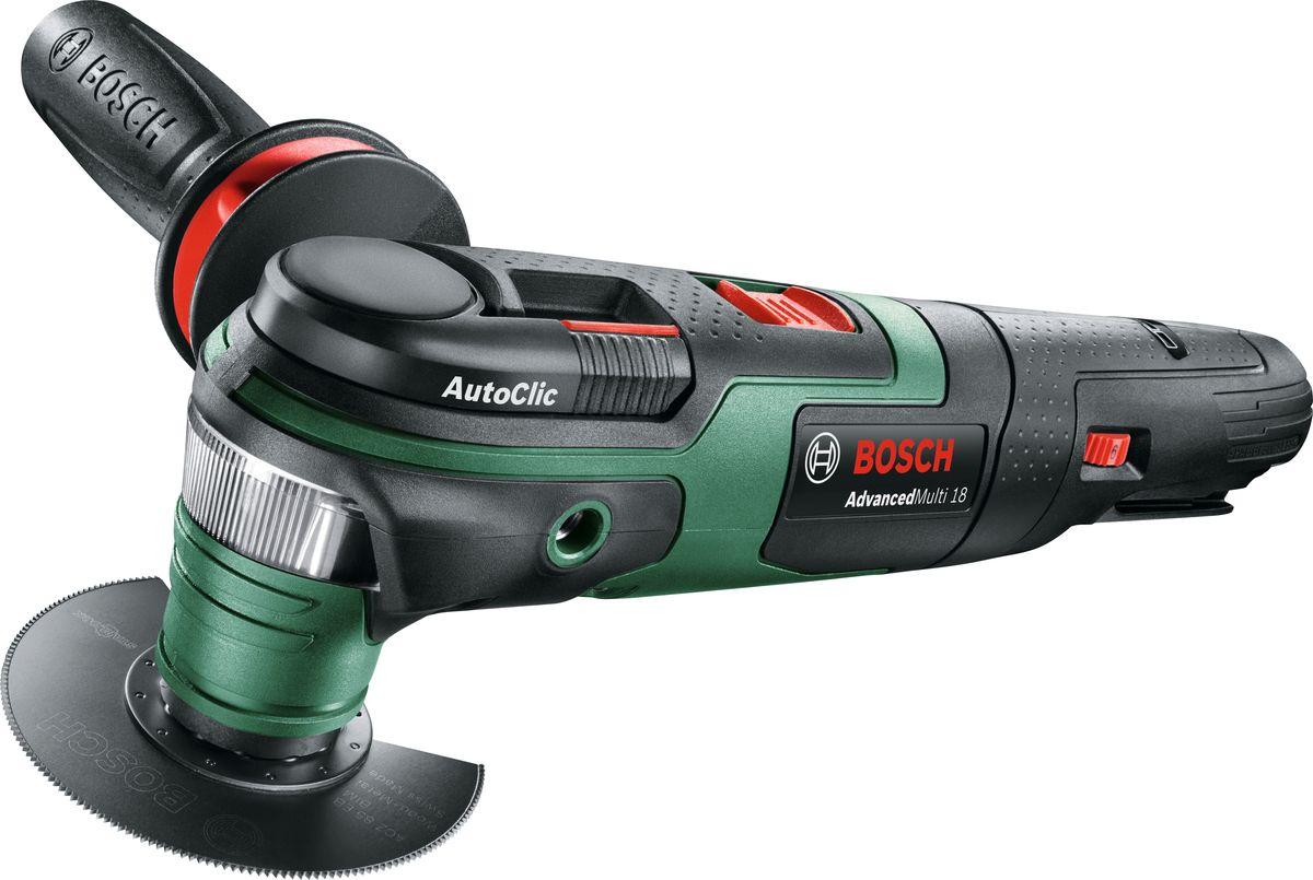 Аккумуляторный многофункциональный инструмент Bosch AdvancedMulti 18, без акк и з/у. 0603104020