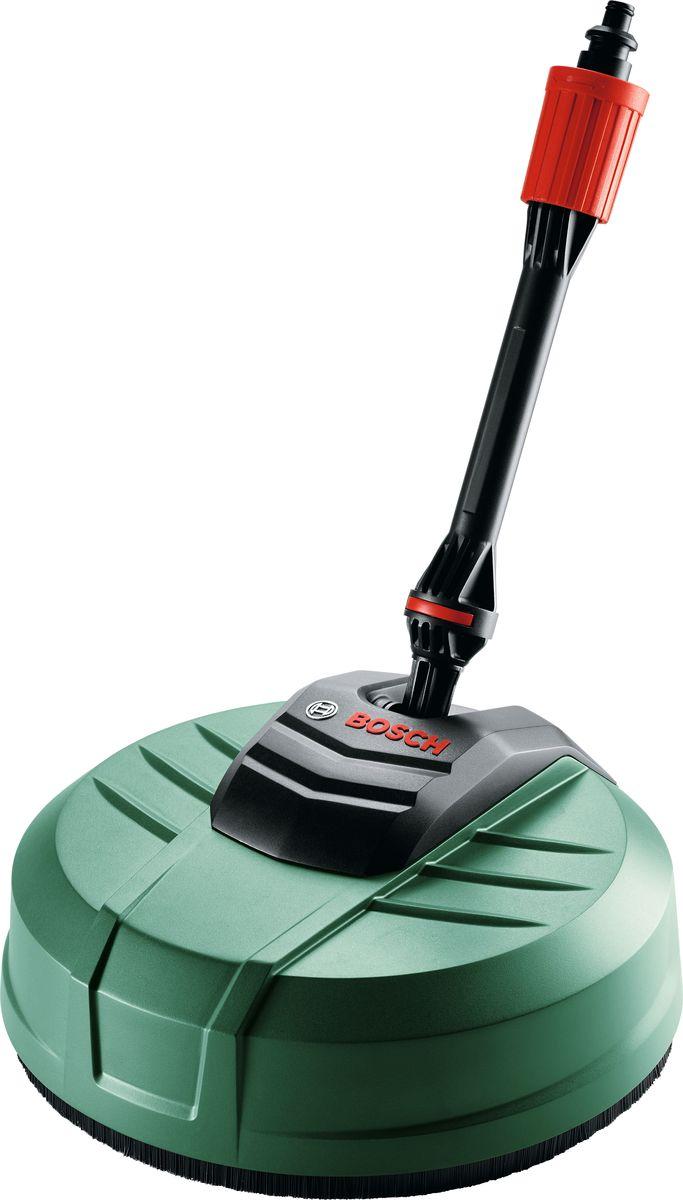 Насадка для мытья террас Bosch AquaSurf 250. F016800486F016800486Насадка BOSCH предназначена для мытья террас, тротуарной плитки, дорожек. Подходит для очистителей высокого давления EasyAquatak 120, UniversalAquatak 135. Идеально подходит для удаления мха. Диаметр: 250 мм.